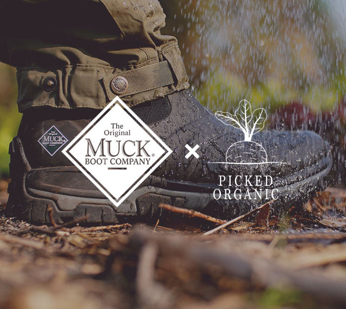 Muck Boots x Picked Organic